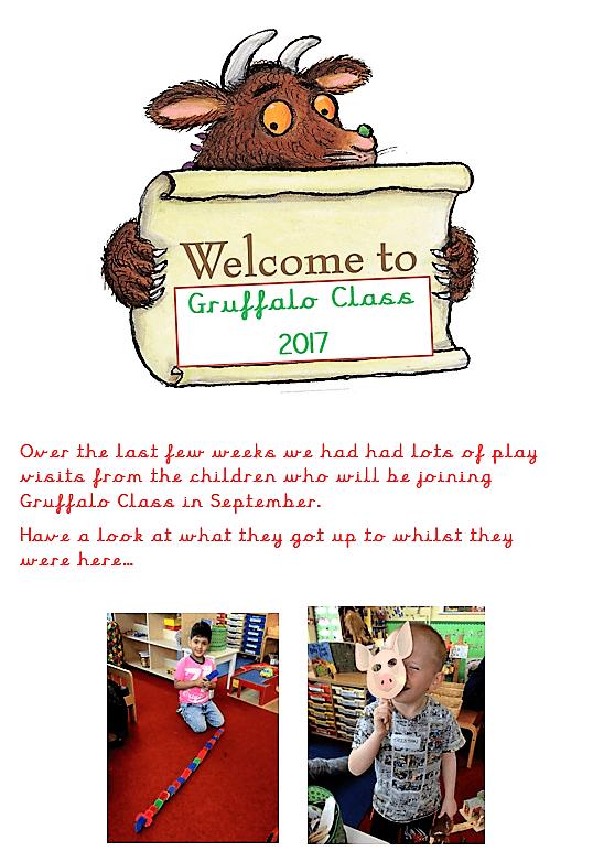 Gruffalos - YR (2017/18) - Springfield CPS