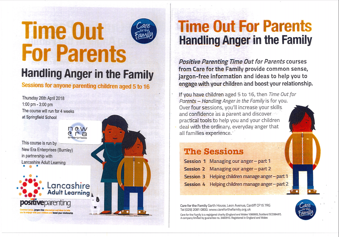 Course – Time out for Parents